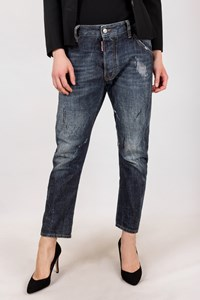 Dsquared2 Dark Blue Distressed Jeans / Size: 46 IT - Fit: M
