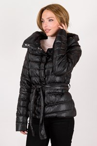 Pinko Black Puffer Nylon Jacket / Size: 44 IT - Fit: S / M