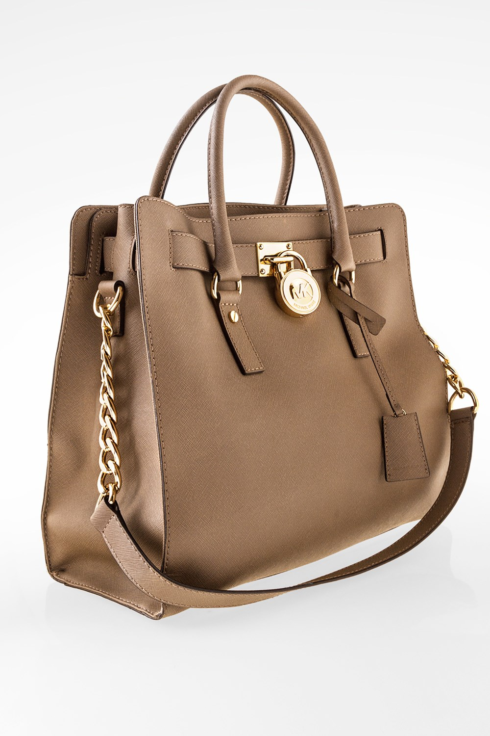 619fcf4ac00a Hamilton Taupe Saffiano Large Leather Tote Bag, Shoulder Bags, Buy Handbags,  Bags, Starbags Products, Starbags.gr