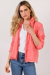 Moncler Coral Pink Amaran Windbreaker Jacket / Size: 4 US - Fit: S