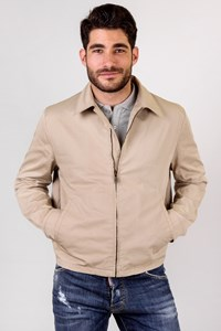 Prada Beige Cotton Lightweight Jacket / Size: 52 IT - Fit: L