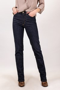 MCM Blue Cotton High-Waisted Jeans / Size: 26 - Fit: XS