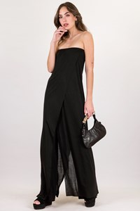 Ioanna Kourbela Back Strapless Jumpsuit / Size: S  - Fit: True to size