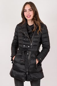 Burberry Brit Black Jacket with Leather Details / Size: SP - Fit: S