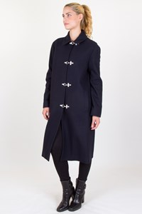 Céline Blue Midi Coat
