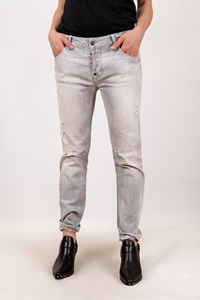 Dsquared2 Light Grey Distressed Jeans / Size: 46 IT - Fit: M