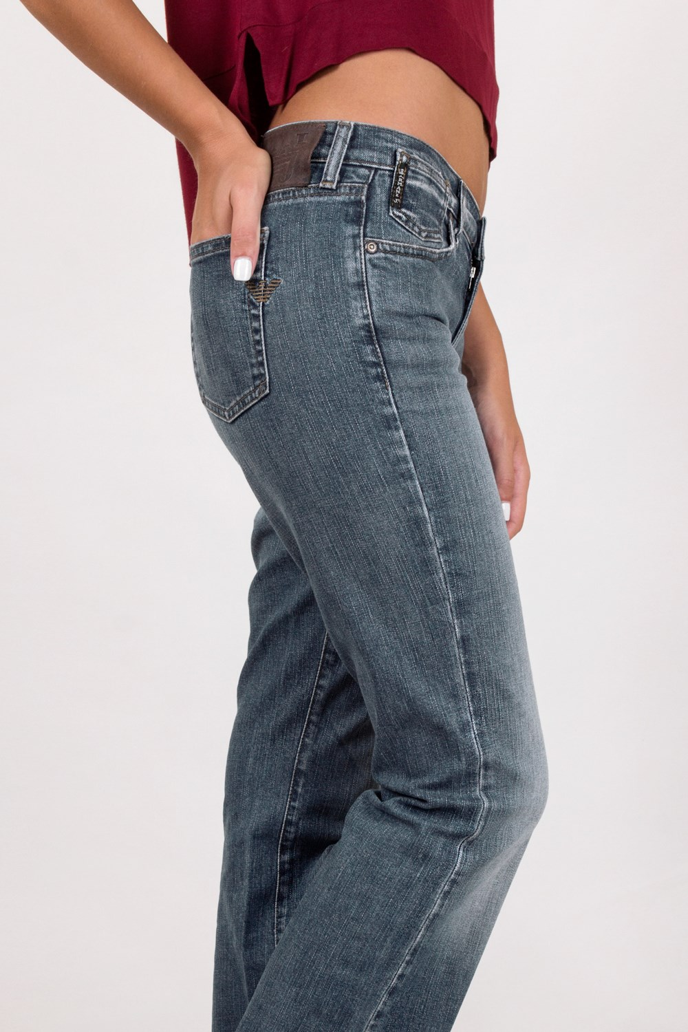 purchase cheap reasonable price lace up in Starbags Products, Clothing, Pants, Denim Pants, Light Blue Distressed Boot  Cut Jeans / Size: 28 - Fit: S, Starbags.gr