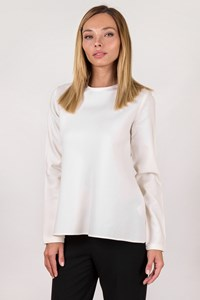 Zeus + Dione White Melissa Longsleeve Blouse / Size: 36 - Fit: XS
