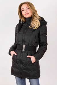 Pierre Balmain Black Nylon Puffer Jacket / Size: 40 IT - Fit: XS