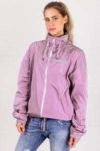 Dsquared2 Lilac Nylon Jacket with Hidden Hood / Size: 56 - Fit: L