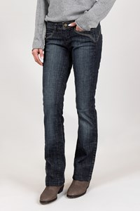 JLo Blue Distressed Bootcut Jeans / Size: 24 US - Fit: XS