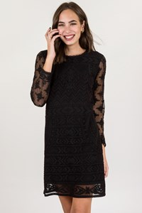 Isabel Marant for H&M Black Lace Dress / Size: 42 - Fit: S/M