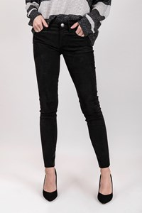 Current/Elliott Black Suede Pants / Size: 26 - Fit: XS / S