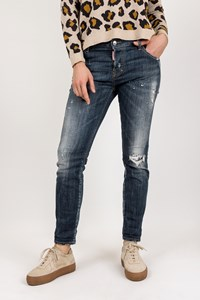 Dsquared2 Blue Distressed with Paint Stains Jeans / Size: 46 IT - Fit: M