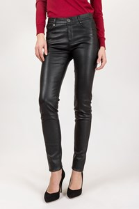 Oakwood Black Leather Pants / Size: 36 - Fit: XSmall / S