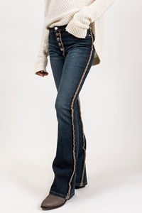 Blumarine Blue Jeans with Topstitching / Size: 38 IT - Fit: XS