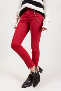 Dsquared2 Red Slim Jeans / Size: 38 IT - Fit: XS