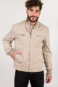 Dolce & Gabbana Beige Cotton Lightweight Jacket / Size: 54 IT - Fit: M