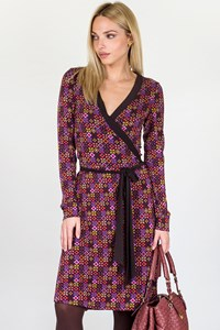 Etro Wrap Printed Jersey Dress / Size: 40 IT