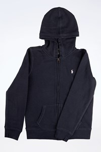 Polo Ralph Lauren Navy Blue Teenager Hoodie / Size: L - Fit: 12-14 Years Old