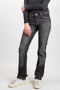 KSubi Grey Distressed Cotton Jeans / Size: 10 UK - Fit: XS / S
