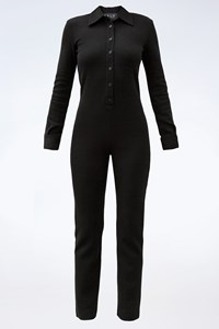 Ralph Lauren Black Wool Jumpsuit / Size: S - Fit: XS