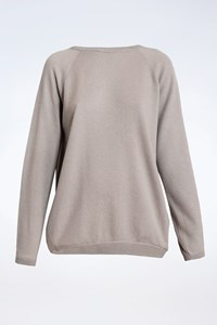 Brunello Cucinelli Grey Cashmere Sweater / Size: XL - Fit: M / L