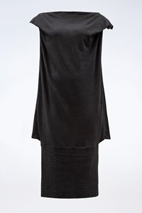 Vivienne Westwood Anglomania Black Wool Convertible Dress / Size: M - Fit: S / M